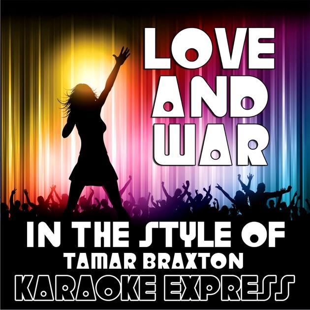 Tamar braxton love and war album cover