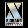 BIGBANG JAPAN DOME TOUR 2014 2015 X