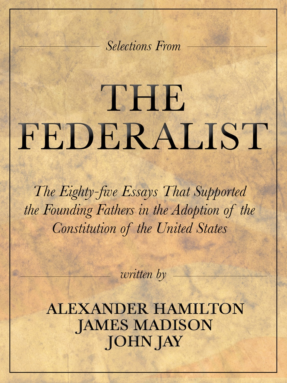 where did the original essays in the federalist papers appear Fifteen curious facts about the federalist papers the essays as the federalist papers readers as the essays circulated in new york the first formal.