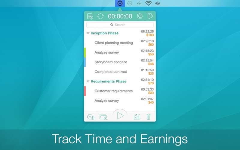 Chrono Plus - Time Tracker Screenshots