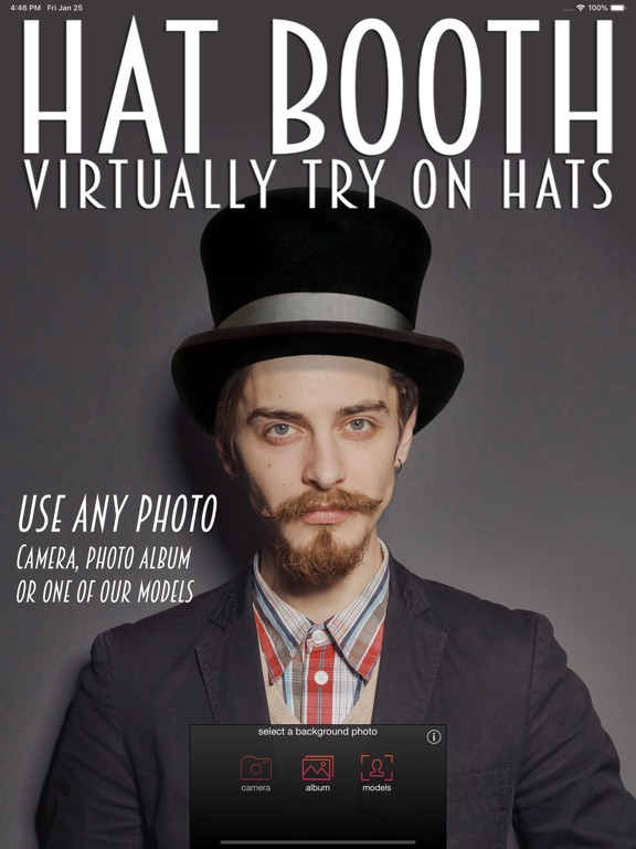 Hat Booth Screenshots