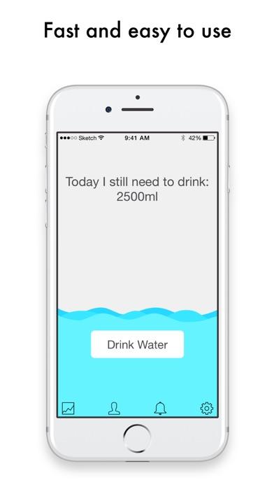 Drink Water PRO Daily Reminder Screenshots