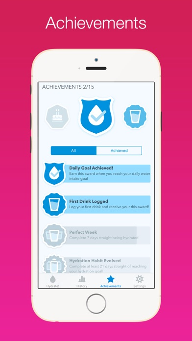 WaterMinder® Screenshots