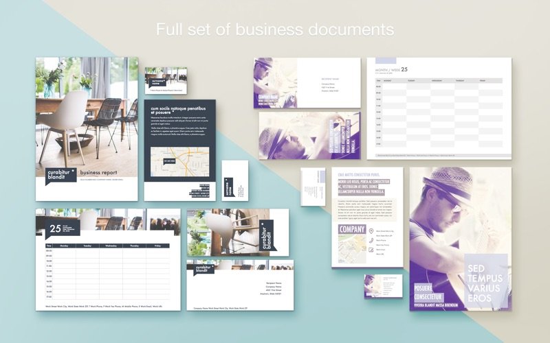 Branding Lab - Templates Screenshots