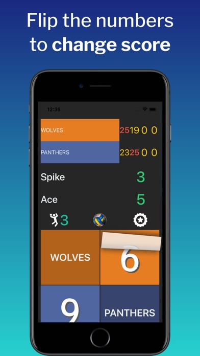 VBall ScoreMaster Screenshots
