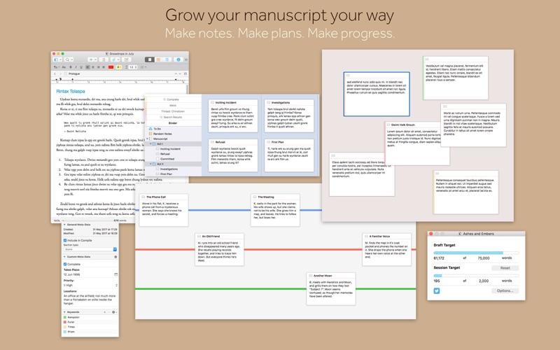 Scrivener 3 Screenshots