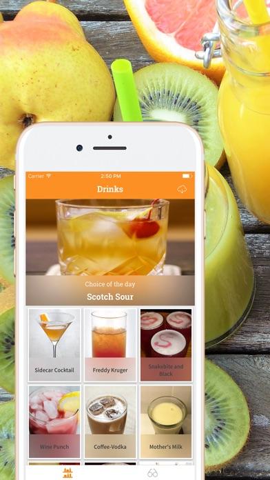 Mix Drink, Cocktail & Smoothie Screenshots