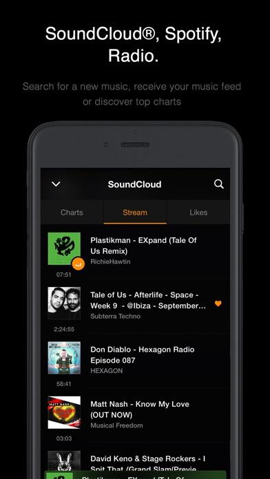 VOX – MP3 & FLAC Music Player Screenshots