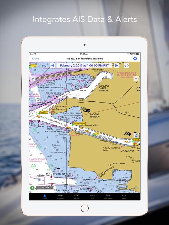 iNavX - Marine Navigation Screenshots