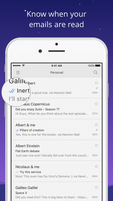 Newton Mail - Email App Screenshots