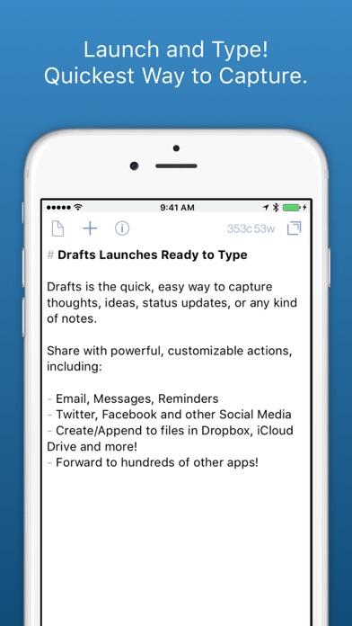 Drafts 4 - Legacy Version Screenshots