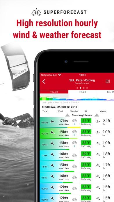 Windfinder Pro Screenshots
