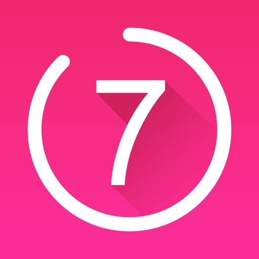 7 Minute Workout For Women Exercise Fitness App Logo