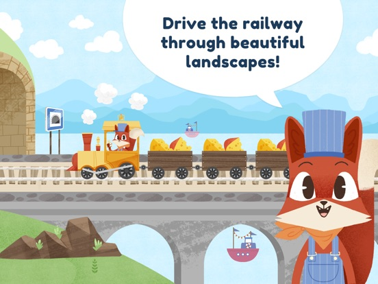 Little Fox Train Adventures Screenshots