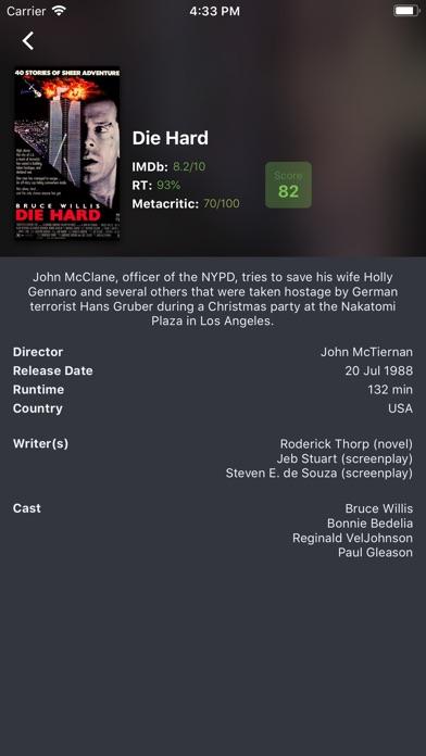 Movie Ratings Screenshots