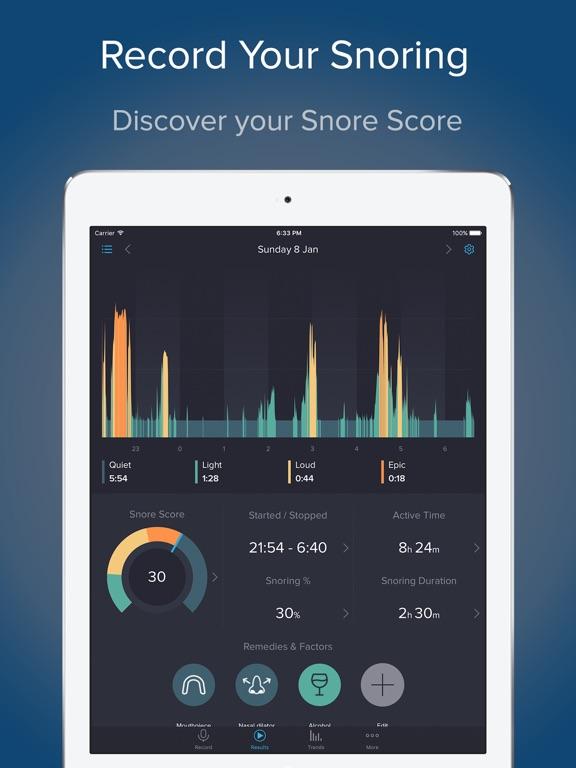 SnoreLab : Record Your Snoring Screenshots