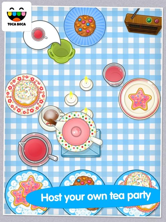 Toca Tea Party Screenshots