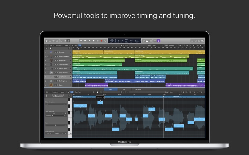 Logic Pro X Screenshots