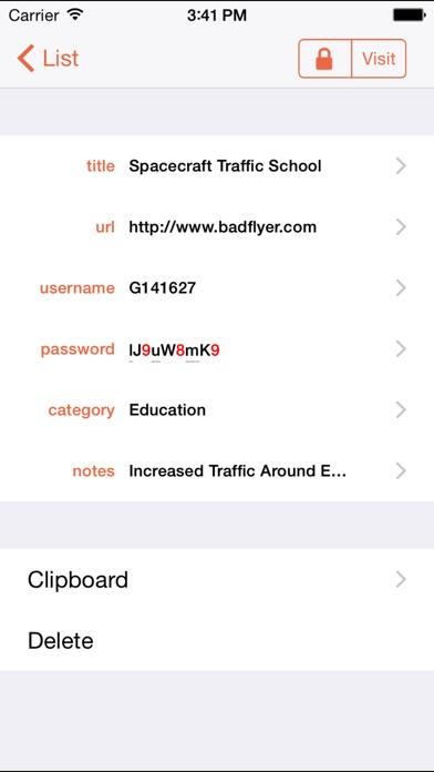 PasswordWallet - All Inclusive Screenshots