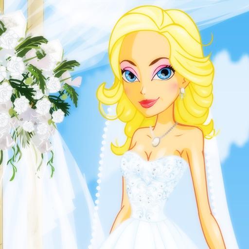 可爱公主新娘装