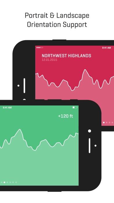 Ella - GPS Elevation Tracker Screenshots