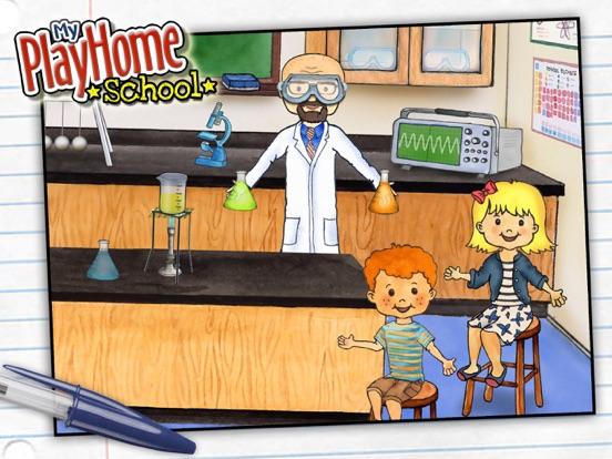 My PlayHome School Screenshots