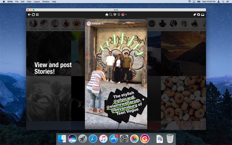 Grids for Instagram Screenshots