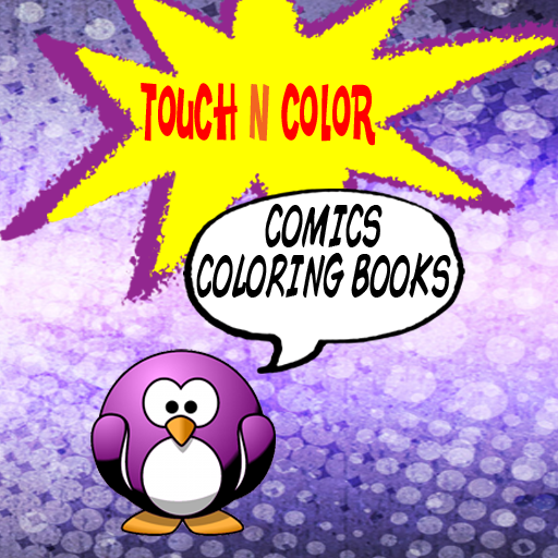Touch 'N' Color - Comics (FREE)