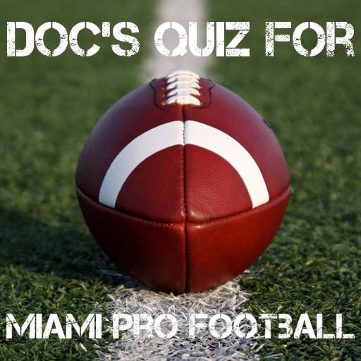 Miami Pro Football Quiz