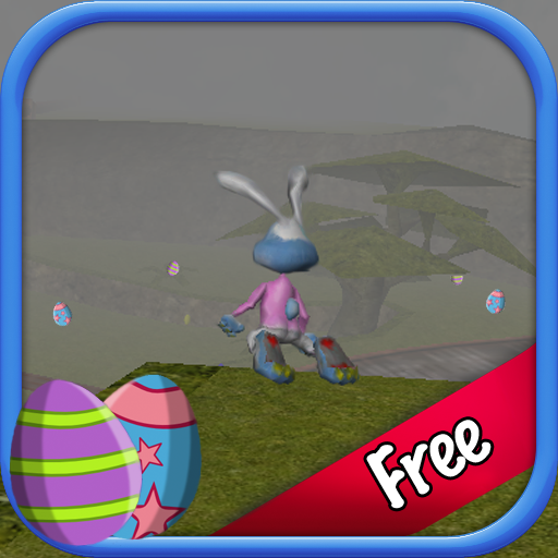 Easter Bunny Egg Hunt 3D Free icon