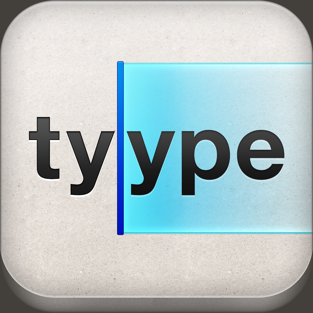 Tyype HD - gesture based text editor with Dropbox support