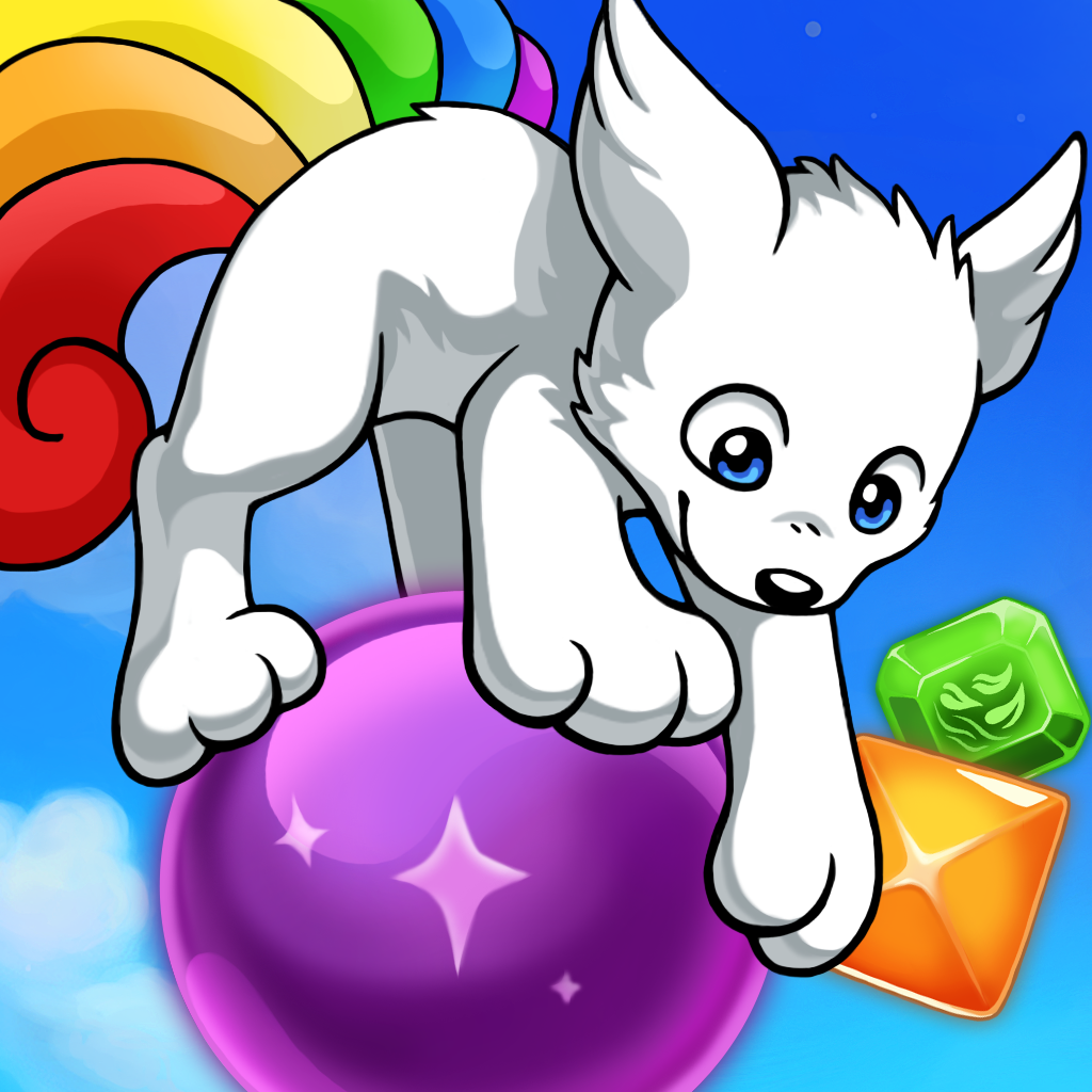 Rainbowtail: Match-3 RPG Pet Puzzle Game!