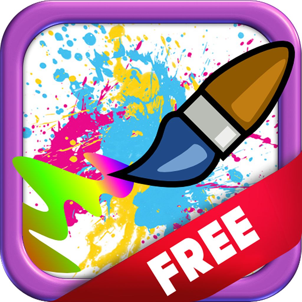 Slide 'N' Paint - FREE! icon