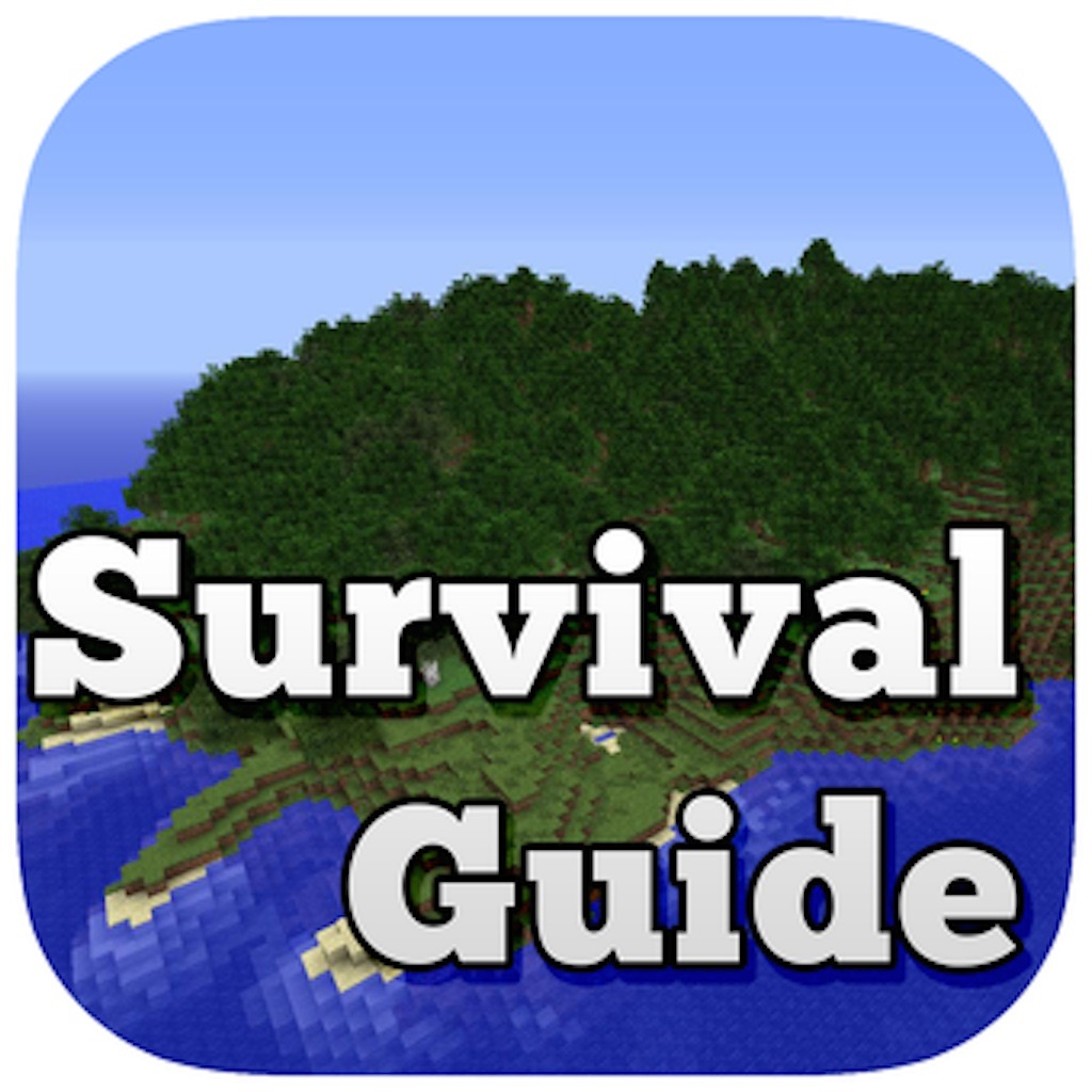 Survival Guide and Backgrounds for Minecraft