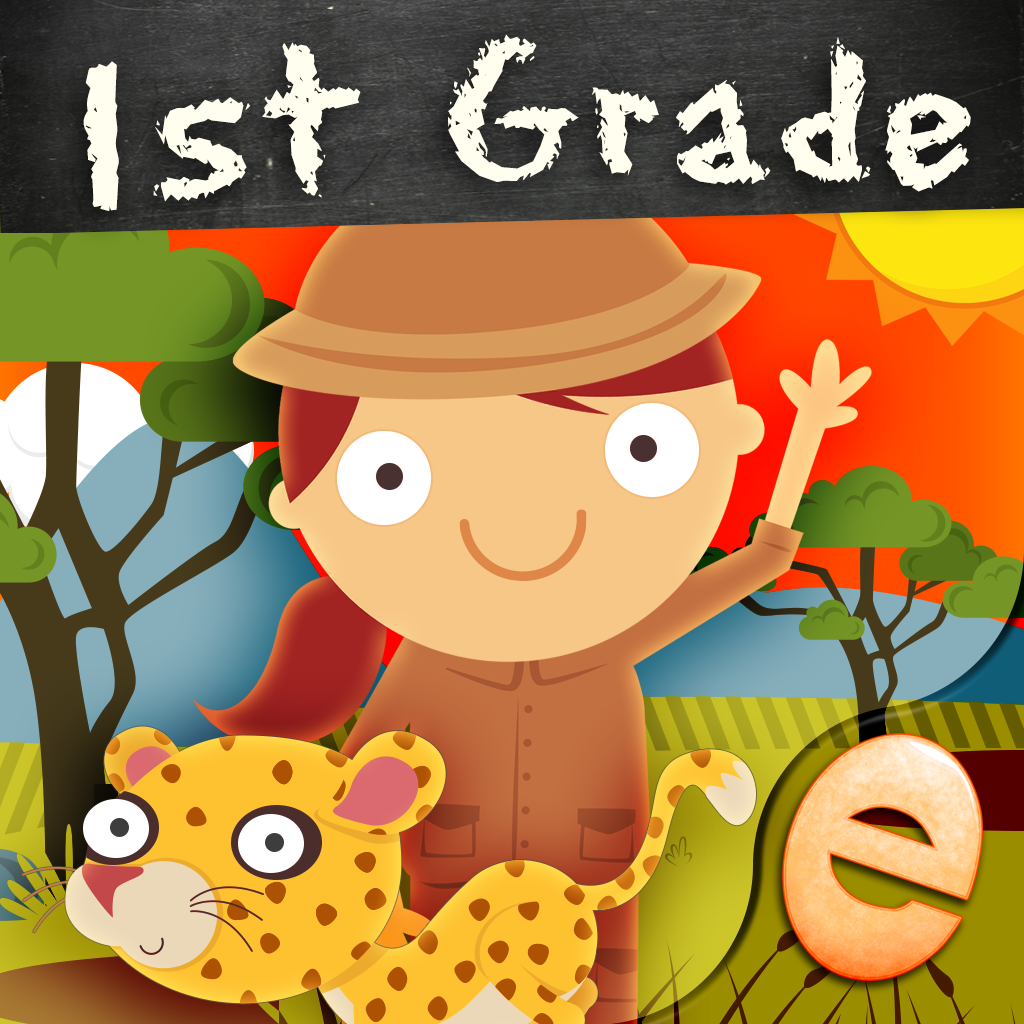 Animal First Grade Math Games for Kids with Kindergarten and 1st Grade Numbers, Counting, Addition and Subtraction Skills