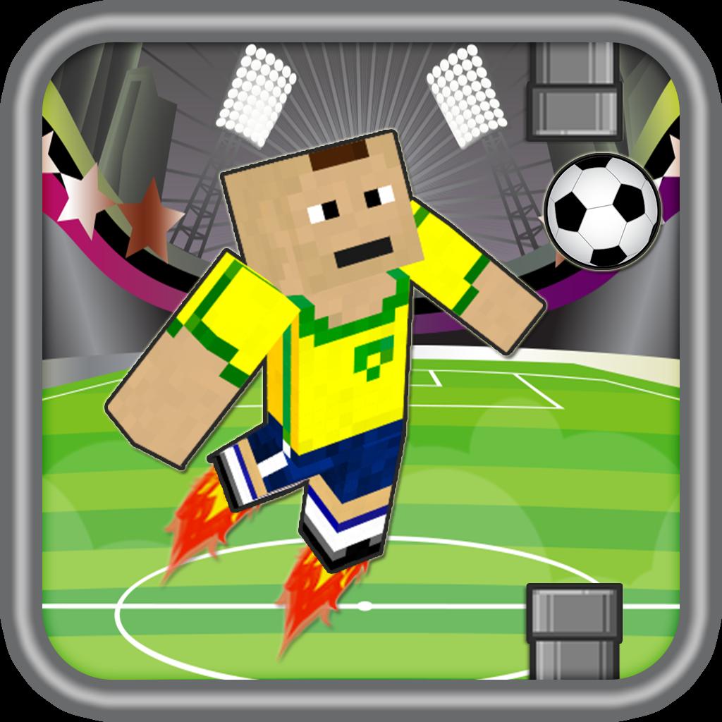 Flappy World Soccer Blocks Hero -