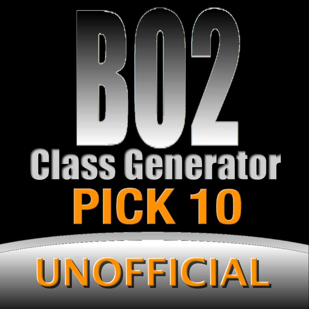 BO2 Pick10 - For Black Ops 2 Edition - Unofficial
