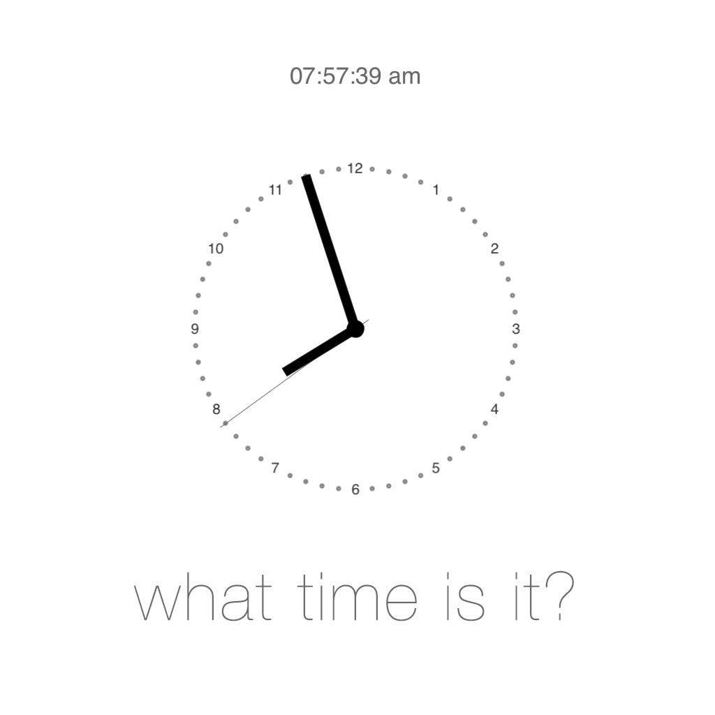 What Time Is It!