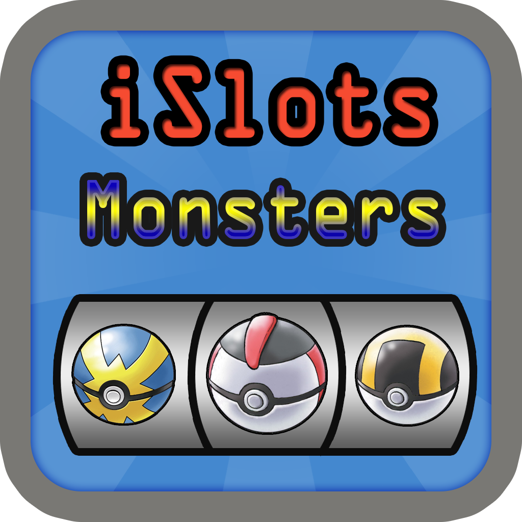 iSolts The Monsters Version ( Party Slot Machine Super Puzzle Pokemon Monster Edition for Every One )