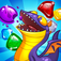 Save the hatchling dragons in this FREE match-3 puzzle/adventure/RPG game
