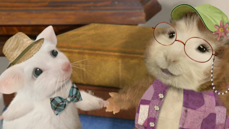 Save The Old White Mouse The Adventures Of Bee And Slug Wonder