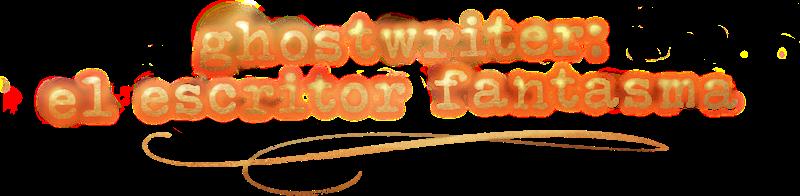 Ghostwriter: El escritor fantasma