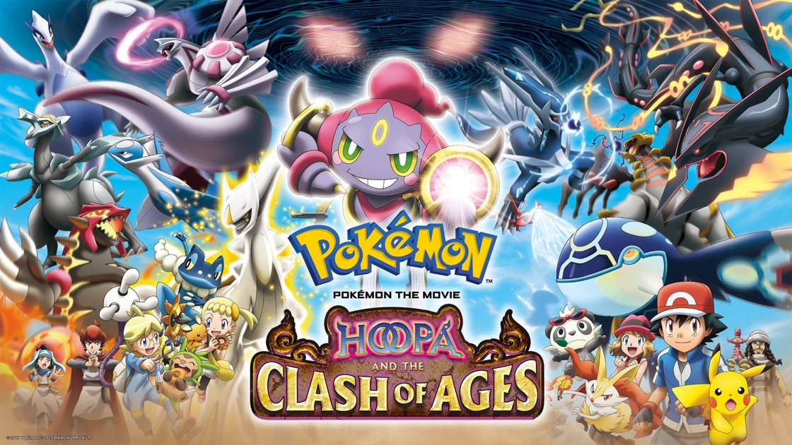 Pokemon The Movie Hoopa And The Clash Of Ages On Apple Tv