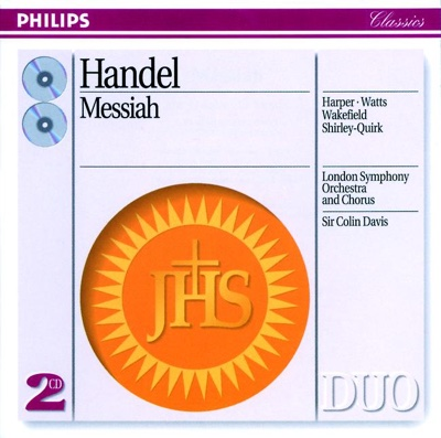 Handel: Messiah - London Symphony Orchestra & Sir Colin Davis album