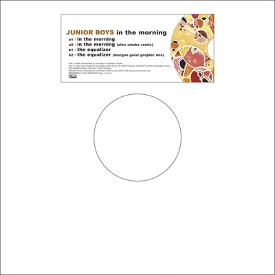 In the Morning / The Equalizer - EP - Junior Boys