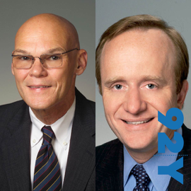 In the News with Jeff Greenfield at the 92nd Street Y featuring James Carville and Paul Begala audiobook