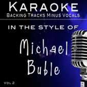 Hits of Michael Buble' Vol 2 (Backing Tracks)