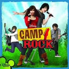 camp rock music from the disney channel original movie by various