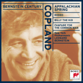 Bernstein Century  Copland: Appalachian Spring, Rodeo, Billy The Kid, Fanfare For The Common Man (Billy The Kid)-Leonard Bernstein & New York Philharmonic