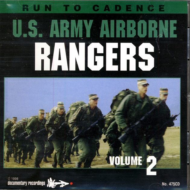 Run to Cadence With the U.S. Army Airobrne Rangers, Vol.2                                    U.S. Army Airborne Rangers